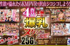 【VR】ヌケる作品大放出!!豪華4作品を全編ノーカット!!爆乳 SELECT BEST 256分